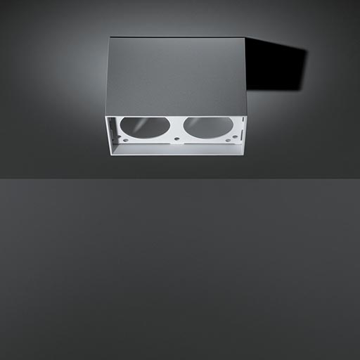 Smart surface box 82 GI for 2x LED GE foto