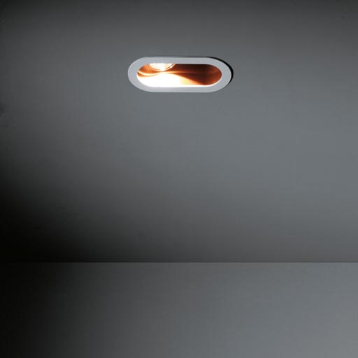 Duell recessed 1x LED RG foto