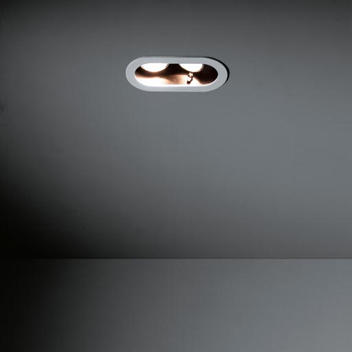 Duell recessed 2x LED RG foto
