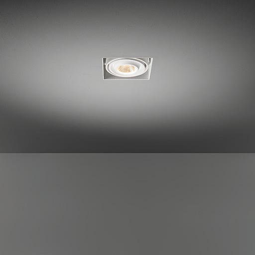 Mini multiple trimless for 1x LED GE foto