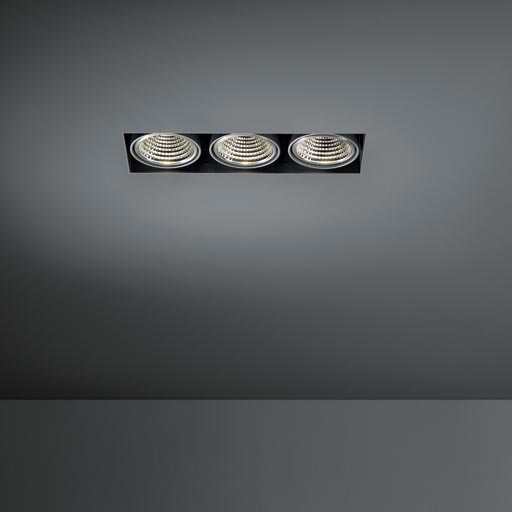 Mini multiple trimless for Smart rings 3x LED GE foto