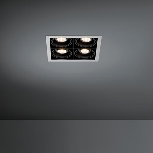 Mini multiple 4x LED retrofit foto