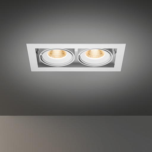 Multiple for 2x LED GE foto