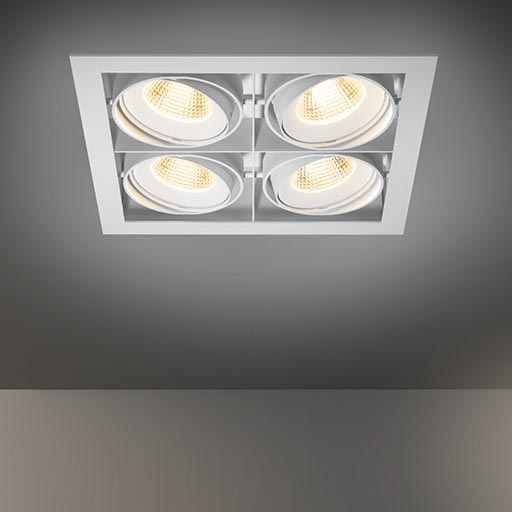 Multiple for 4x LED GE foto