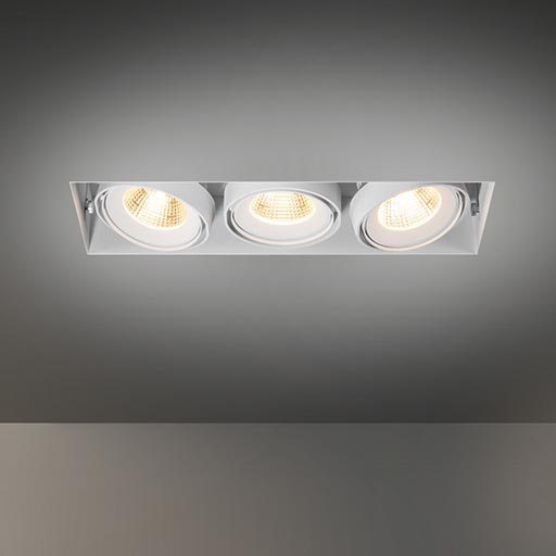 Multiple trimless for 3x LED GE foto