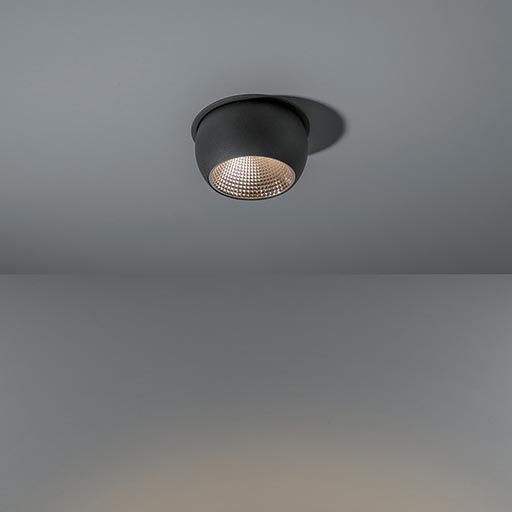 Marbul recessed 115 1x LED GE foto