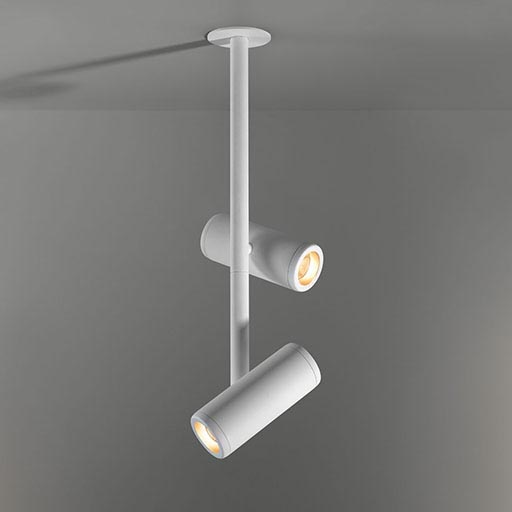 Médard 70 stretched semi-recessed 2x LED GE foto