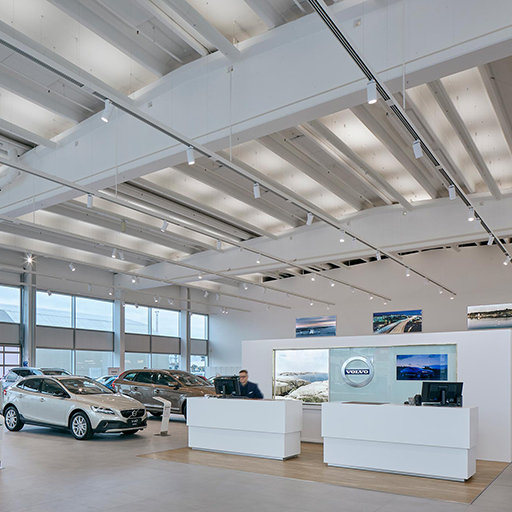 Volvo Showroom, Tampere (Fi)